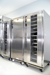 Bridgewater Place Event Center in Knoxville, TN - FWE / Food Warming Equipment Company, Inc. has MT-1826-18 moisture-temp cabinets in this facility.