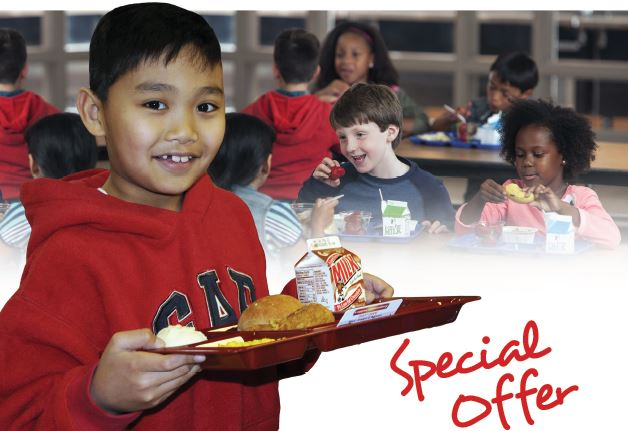 School Foodservice Special Offer and Sale